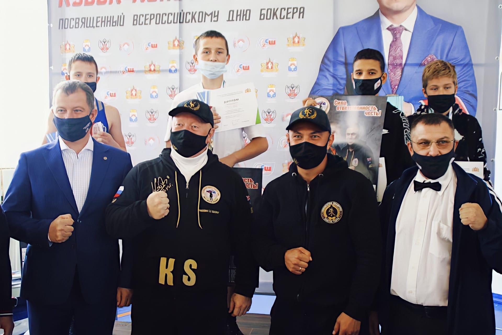 Состоялись финальные поединки ХХ областного турнира по боксу Кубок Константина Цзю