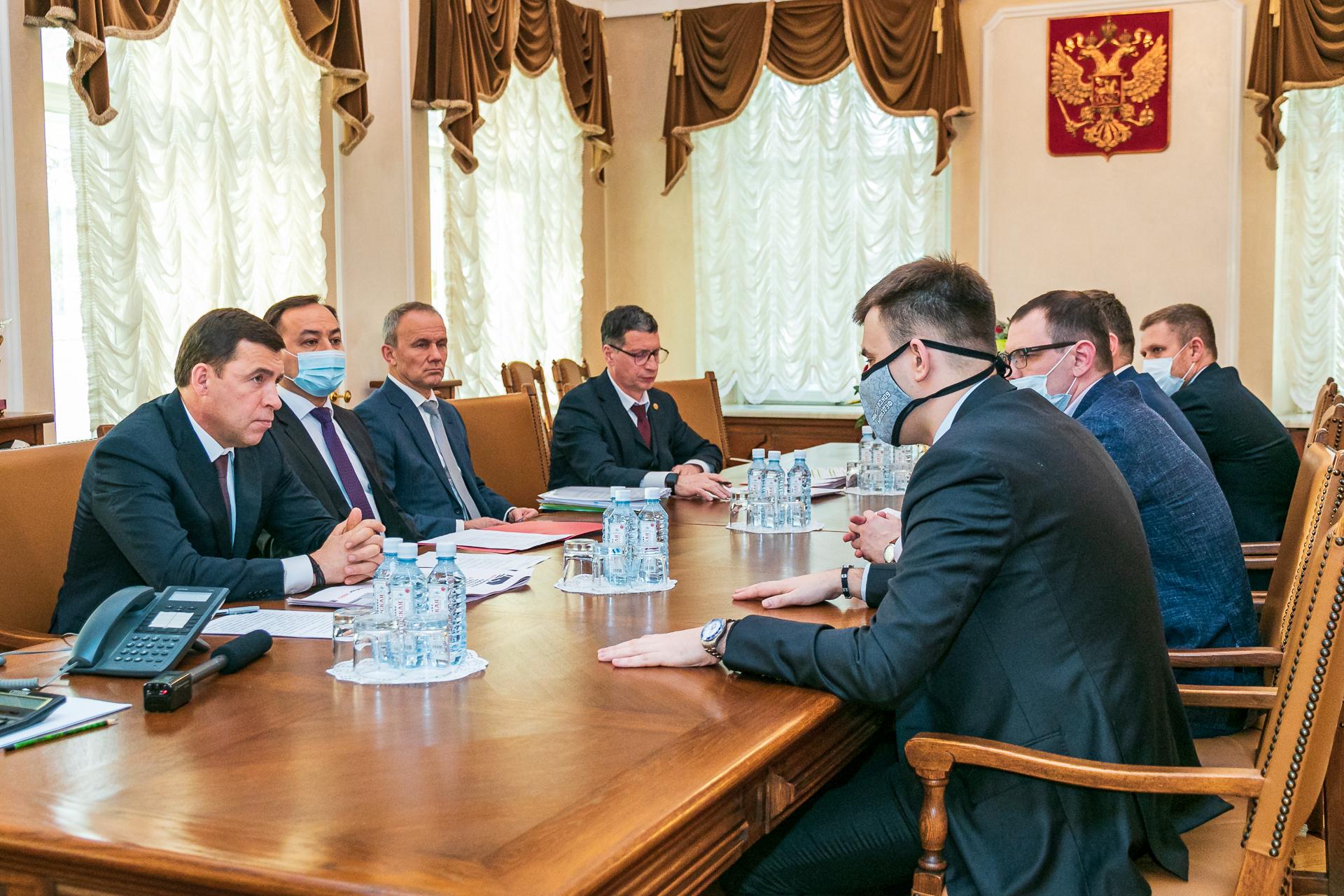 Екатеринбург посетил Генеральный секретарь Федерации бокса России Кирилл Щекутьев
