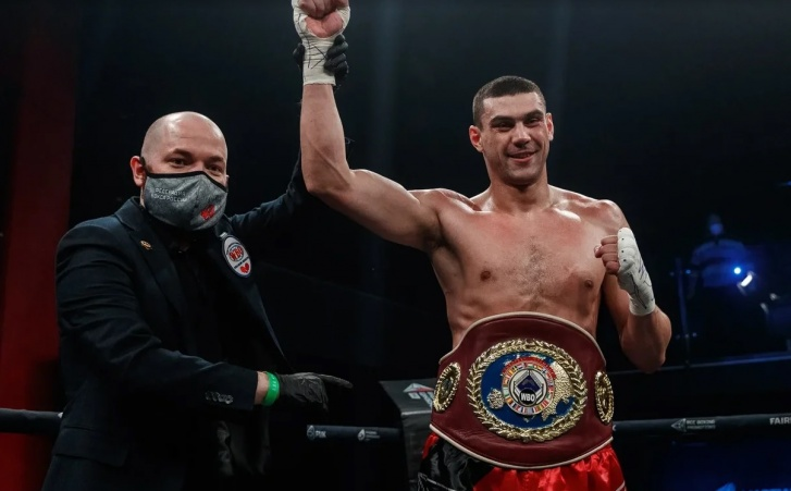 Тищенко одержал восьмую победу на профессиональном ринге и завоевал титул WBO European