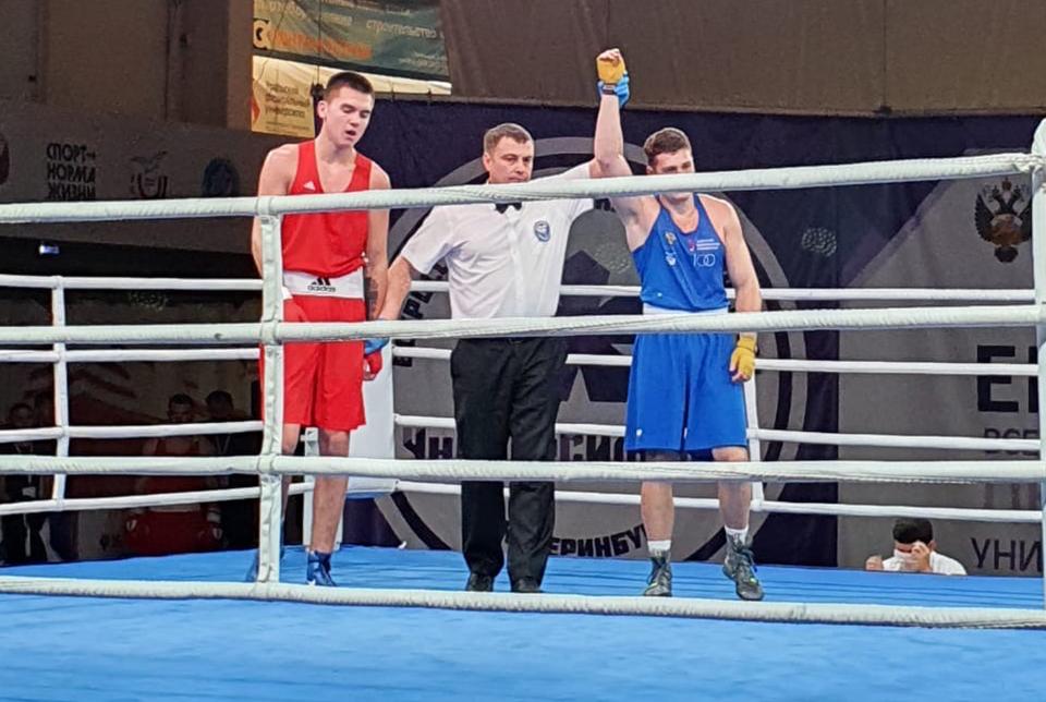Свердловские боксеры заняли три призовых места на Всероссийской летней Универсиаде.