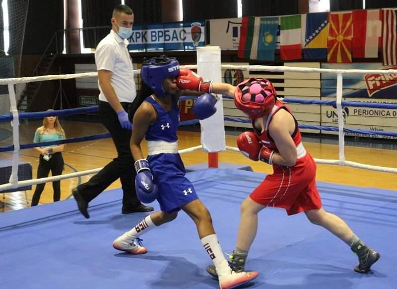 Боксер из Краснотурьинска (Свердловская область) Рената Мингалимова выиграла «Пятый юниорский кубок наций»